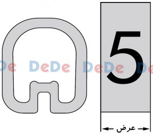 شماتیک حروف سیم و شماره سیم حلقویEC#