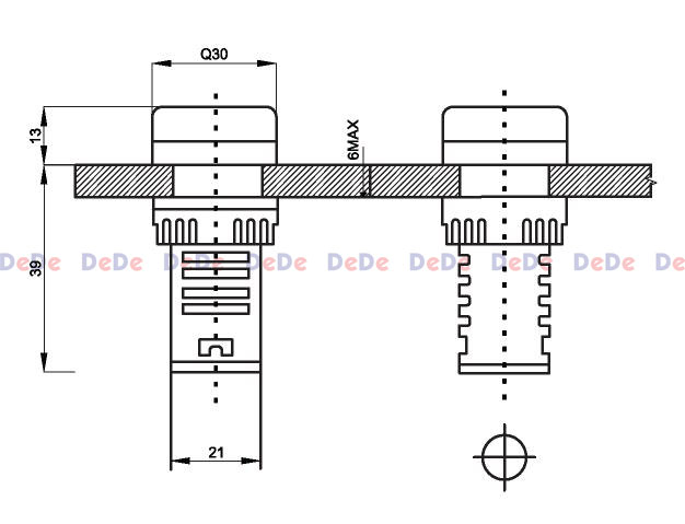 چراغ سیگنال LED (ال ای دی)