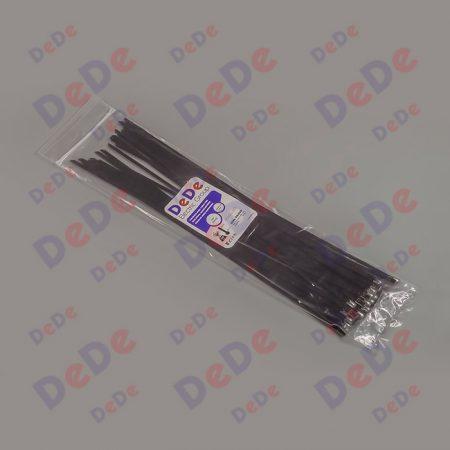 بست کمربندی استیل با روکش اپوکسی با عرض 4.6 میلیمتر و طول 200 میلیمتر، بسته 50 عددی (SSC46200)