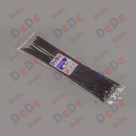 بست کمربندی استیل با روکش اپوکسی با عرض 4.6 میلیمتر و طول 300 میلیمتر، بسته 50 عددی (SSC46300)