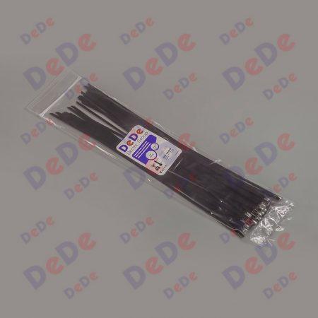 بست کمربندی استیل با روکش اپوکسی با عرض 4.6 میلیمتر و طول 150 میلیمتر، بسته 50 عددی (SSC46150)