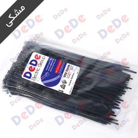بست کمربندی پلاستیکی مشکی DTU76550