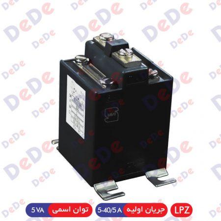 ترانس اندازه گیری جریان LPZ - جریان اولیه 40/5-5 (5VA)